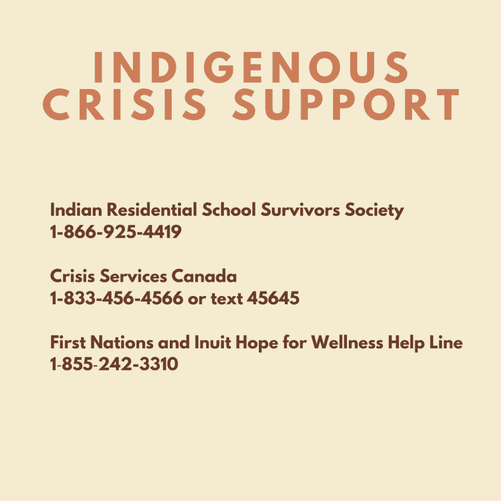 Indigenous Crisis Support