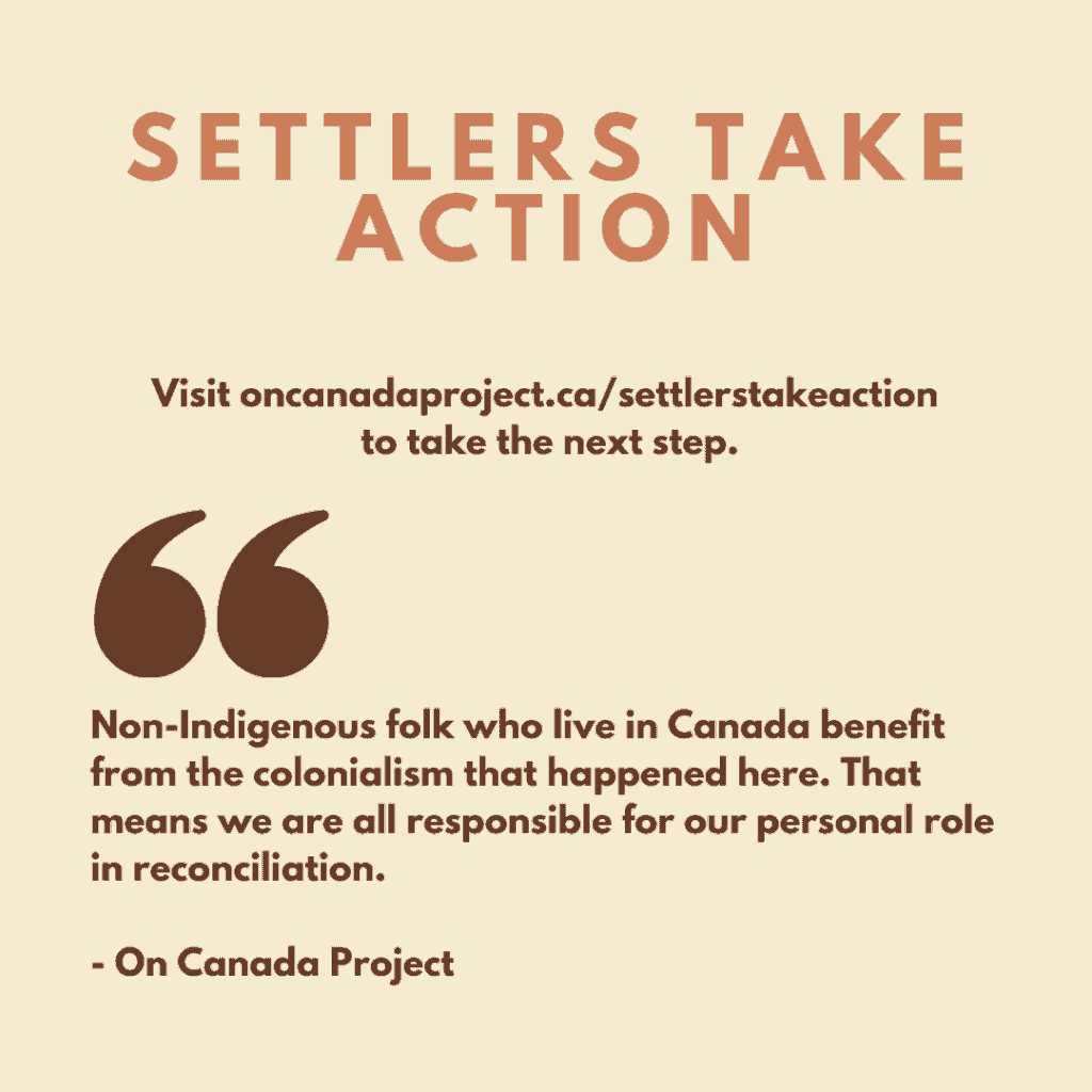 Settlers Take Action
